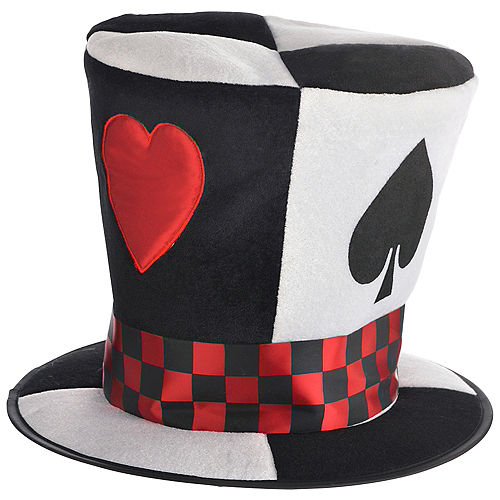 7046bb69aecca6 Poker Card Top Hat