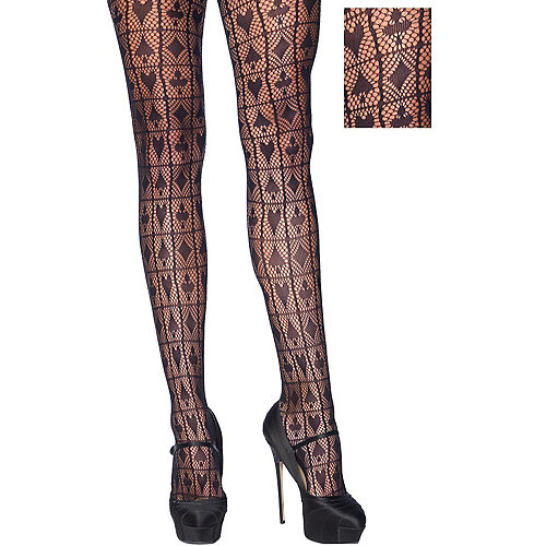 533ad86bdabdd Fishnet Stockings & Pantyhose for Women | Party City