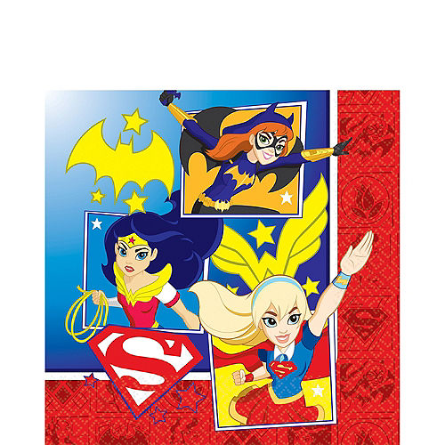 Dc Super Hero Girls Party Supplies Wonder Woman Supergirl