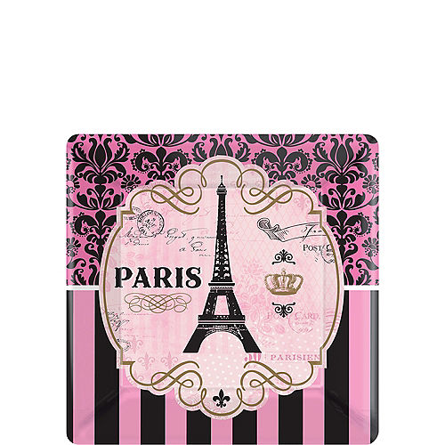 df03612188 A Day in Paris Dessert Plates 8ct