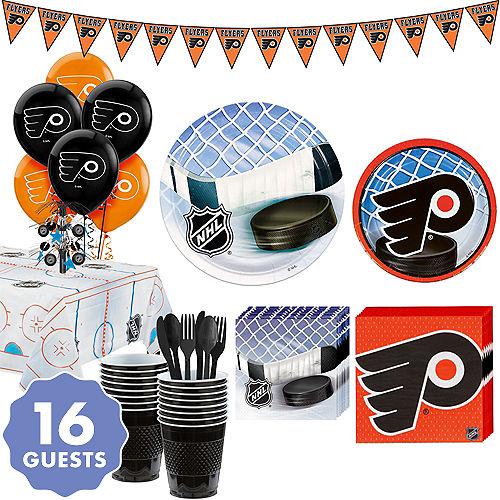 841d21c9855 Super Philadelphia Flyers Party Kit for 16 Guests