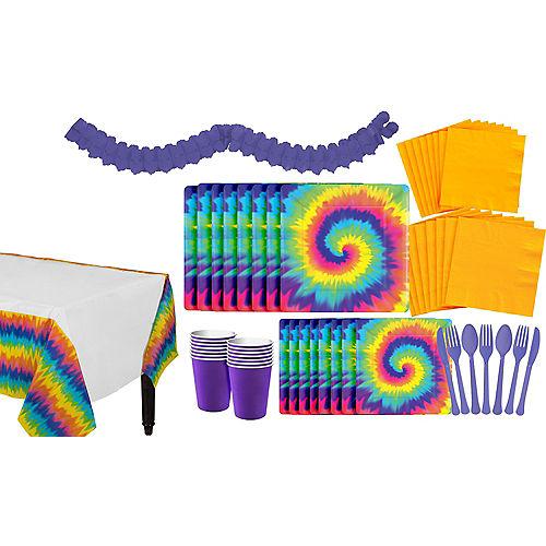 tie dye 60s theme party supplies party city