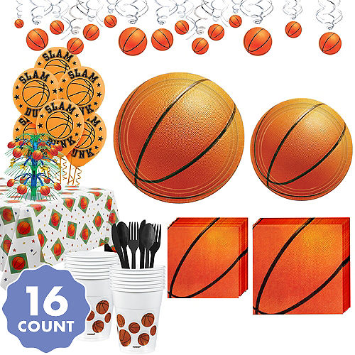 basketball party supplies party city