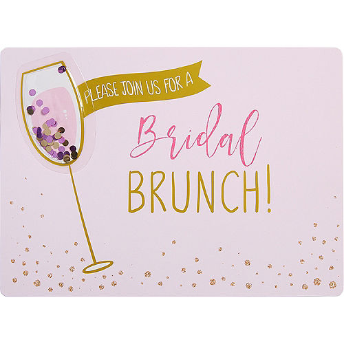 premium bridal shower brunch invitations 8ct