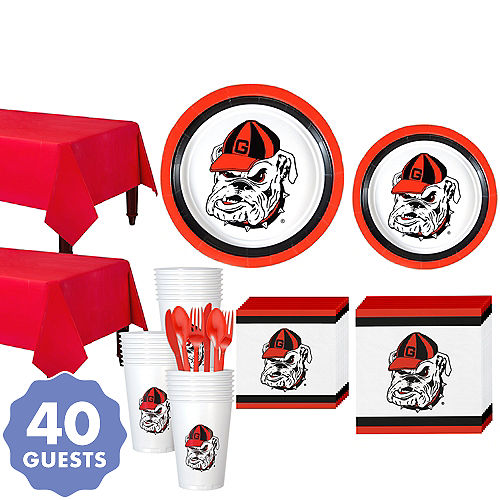 1a537186ebe Georgia Bulldogs Party Kit for 40 Guests