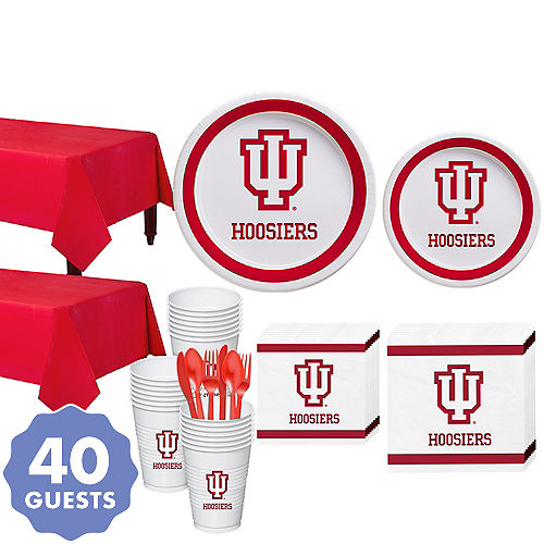 Indiana Hoosiers Party Supplies | Party City