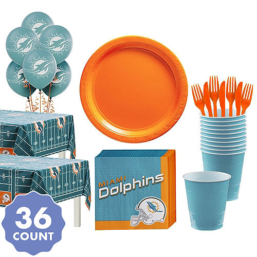 a3e6587d NFL Miami Dolphins Party Supplies | Party City
