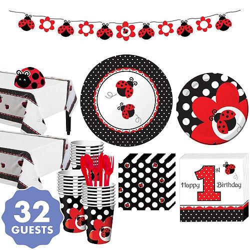 c78e62c87e23 Fancy Ladybug 1st Birthday Party Supplies - Ladybug Birthday | Party ...