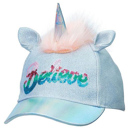 aa228061b90 Child Silver Unicorn Baseball Hat