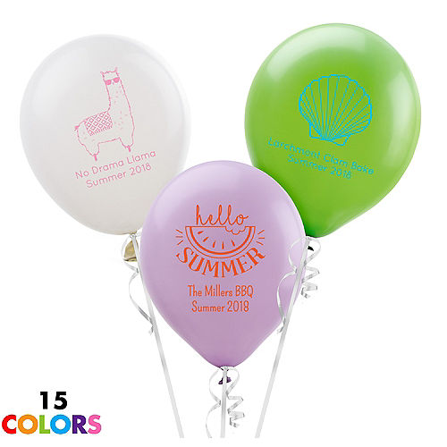 e21618990 Custom Balloons - Personalized Balloons | Party City