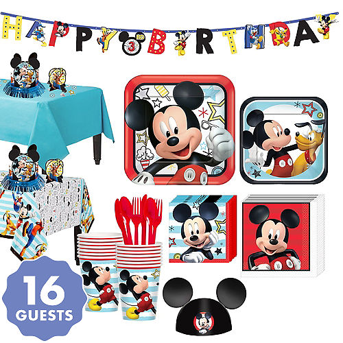 Mickey Mouse Party Supplies Mickey Mouse Birthday Ideas