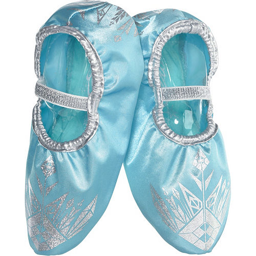 8c69b12c527 Child Elsa Slipper Shoes - Frozen
