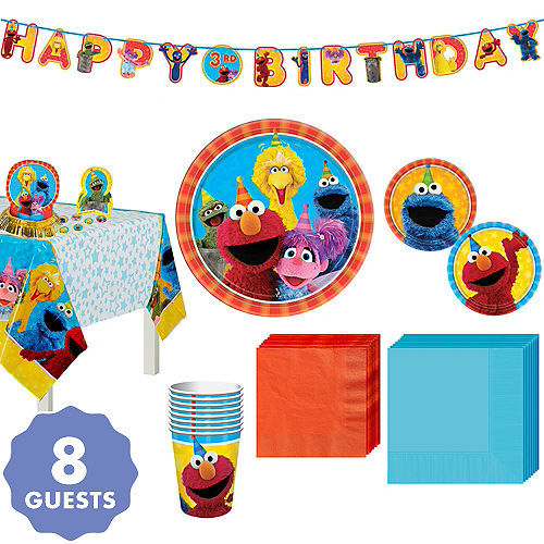Stupendous Sesame Street Party Supplies Sesame Street Birthday Interior Design Ideas Tzicisoteloinfo