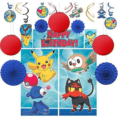 Pokemon Party Supplies - Pokemon Birthday | Party City