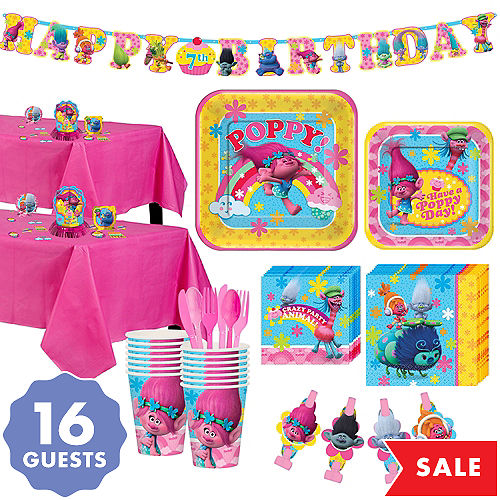 Trolls Party Supplies - Trolls Birthday Party | Party City Canada