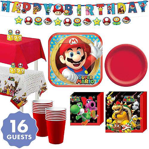 Super Mario Party Supplies Super Mario Birthday Ideas Party City
