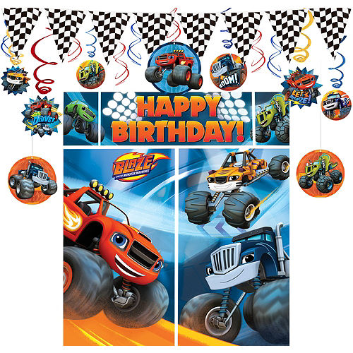 Blaze And The Monster Machines Decorating Kit