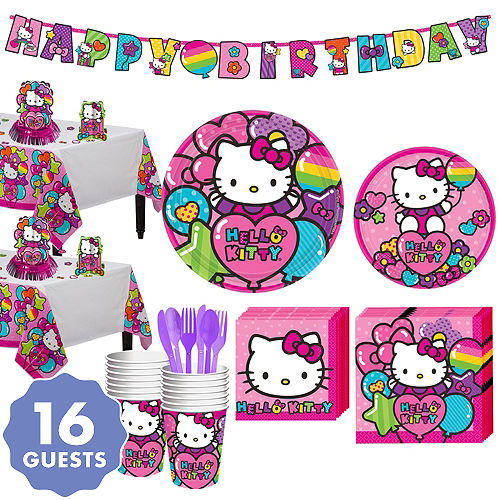 Hello Kitty Party Supplies - Hello Kitty Birthday Ideas | Party City