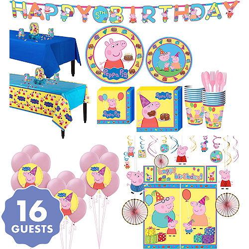 6d5a6997212 Peppa Pig Party Supplies - Peppa Pig Birthday