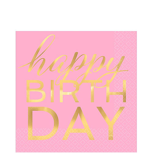 4102a20ff5aa Confetti Fun Birthday Party Supplies - Pastel and Gold Birthday ...