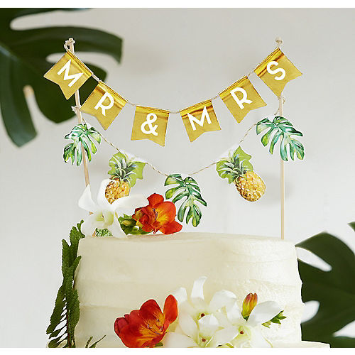 Wedding Cake Toppers - Monogram & Funny Cake Toppers | Party City