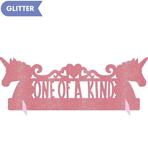 Glitter Magical Unicorn Centerpiece