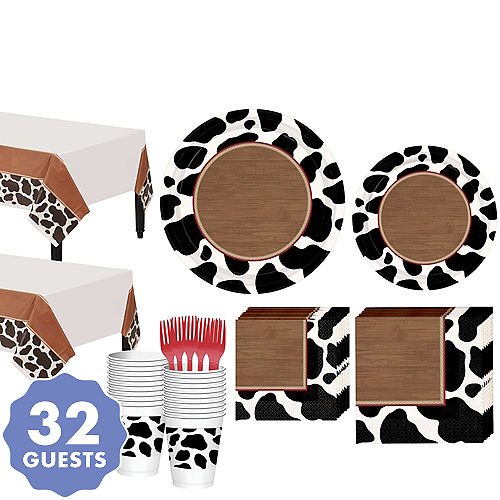 Yeehaw Western Tableware Kit for 32 Guests b2a30b5aa8c9