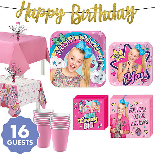 19ec24ce814 In-Store Pickup · JoJo Siwa Basic Party Kit for 16 Guests