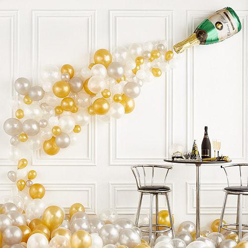 Wedding balloons balloon bouquets party city champagne bottle balloon kit junglespirit Gallery
