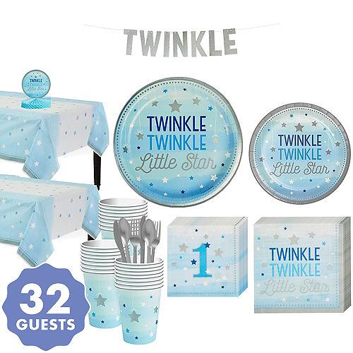 dfcdf65f Blue Twinkle Twinkle Little Star Gender-Reveal Baby Shower Party ...