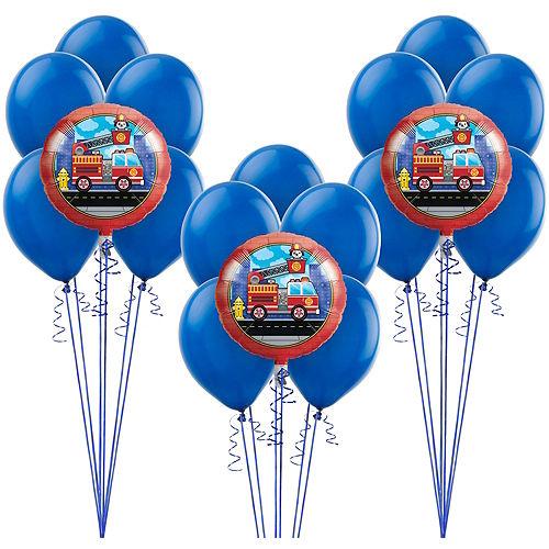 Fire Truck Balloon Kit