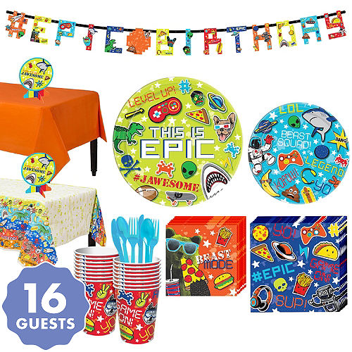 Epic Party Kit For 16 Guests