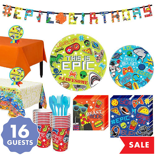 Epic Birthday Party Supplies | Party City Canada