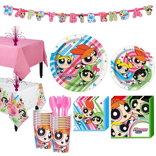 The Powerpuff Girls Party Supplies - The Powerpuff Girls Party