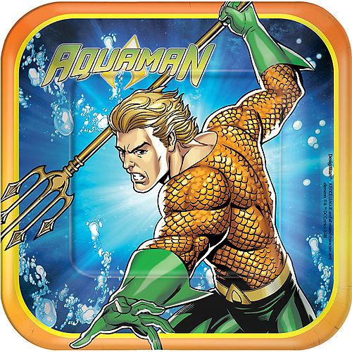 Aquaman Dessert Plates 8ct