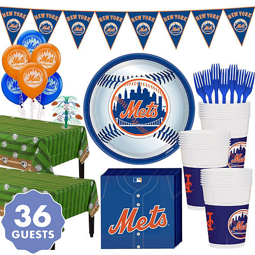 983eb4611 Super New York Mets Party Kit for 36 Guests