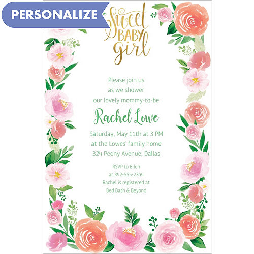 fd63bbd328b Custom Invitations - Personalized Invitations