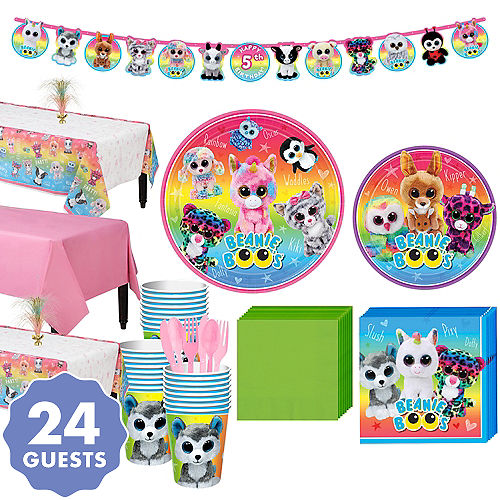 Beanie Boos Party Kit For 24 Guests