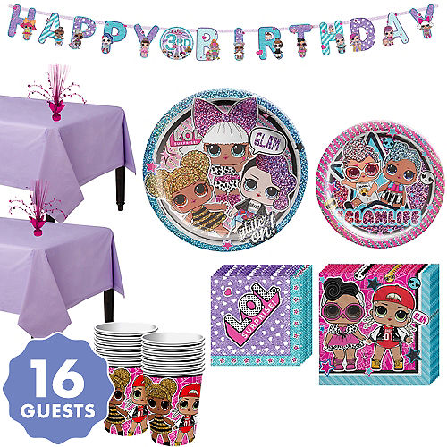 LoL Party Supplies - LoL Birthday Party | Party City