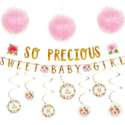 Boho Girl Baby Shower Decorating Kit Party City