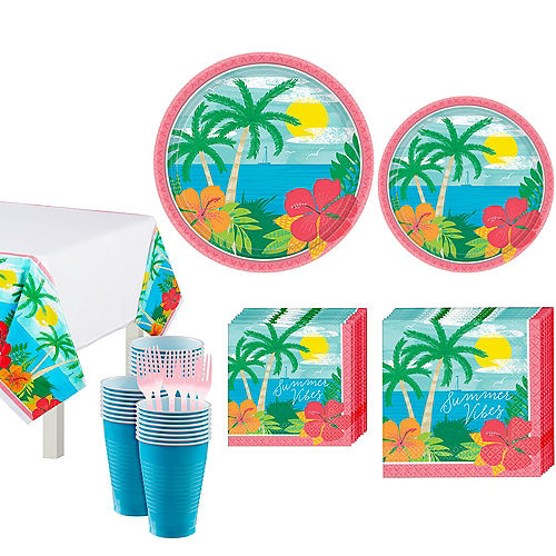 Summer Vibes Tableware Kit for 60 Guests