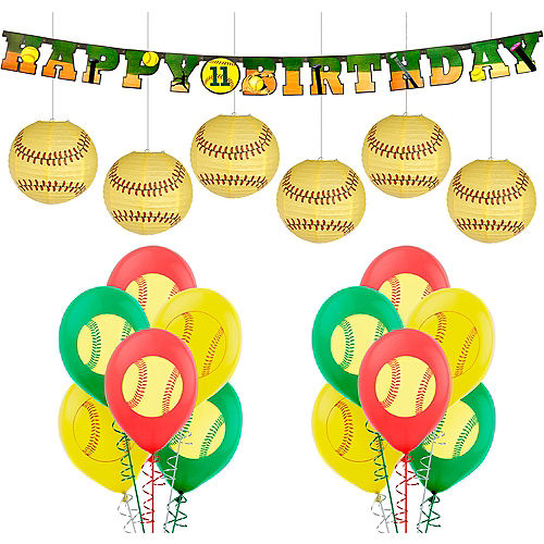 Softball Party Supplies & Decorations  Party City