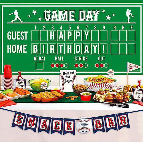 MLB Rawlings Baseball Party Supplies & Decorations | Party City