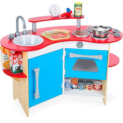Melissa Doug Cook S Corner Pretend Play Toy Kitchen