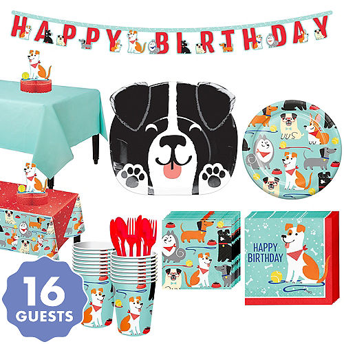 Dog Party Kit For 16 Guests