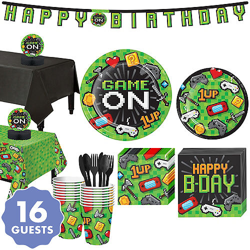 Video Game Party Supplies - Gamer Birthday | Party City Canada
