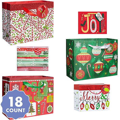 3b713c8ea Medium Size Christmas Gift Bag Bundle 18pc