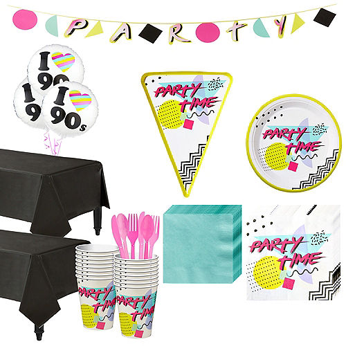 90s Theme Party Supplies, Decorations, Costumes & More | Party City