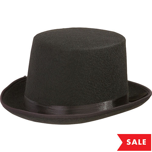 47a797cd5521 Top Hats, Derby Hats & Fedoras for Men & Women | Party City