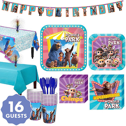 Wonder Park Tableware Kit For 16 Guests